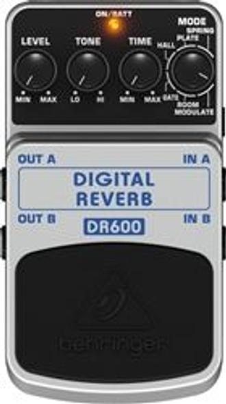Behringer Digital Stereo Reverb Effects Pedal