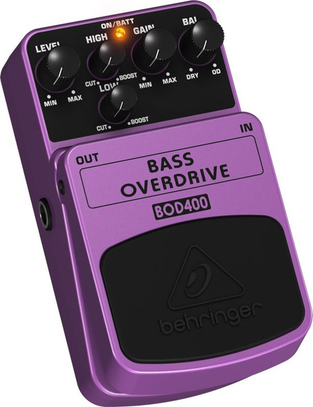 Behringer Authentic Tube-Sound Overdrive Effects Pedal