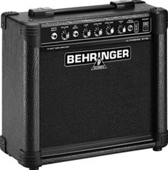 "Behringer Ultra-Compact 15-Watt Bass Amplifier with VTC-Technology, 8"" Speaker"