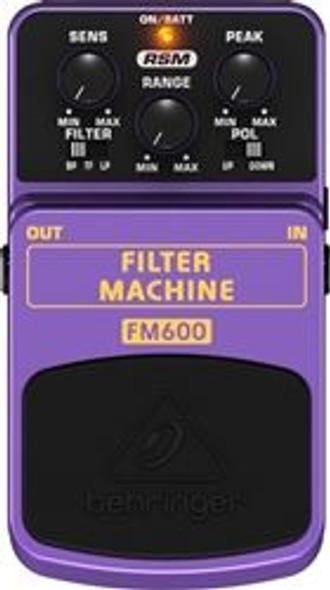 Behringer Ultimate Filter Modeling Effects Pedal