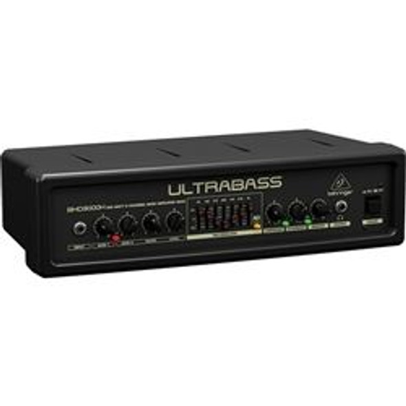 Behringer 300-Watt 2-Channel Bass Amplifier Head with FBQ Spectrum Analyzer, Ultrabass Processor and Compressor