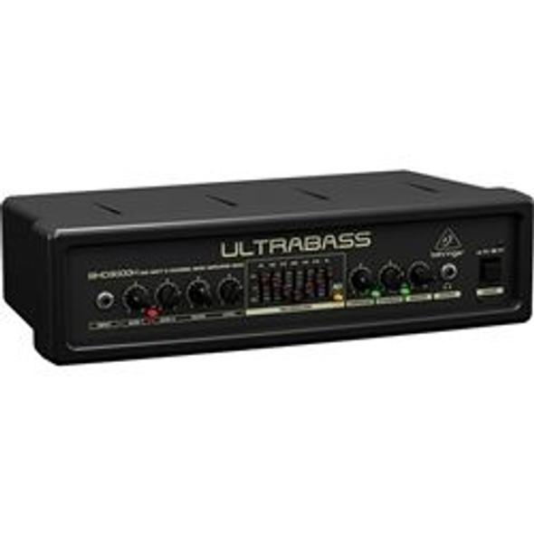 Behringer 300-Watt 2-Channel Bass Amplifier Head with FBQ Spectrum Analyzer, Ultrabass Processor and Compressor