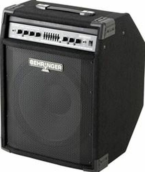 "Behringer 300-Watt 2-Channel Amplifier with 15"" Speaker, FBQ Spectrum Analyzer, Compressor and Ultrabass Processor"