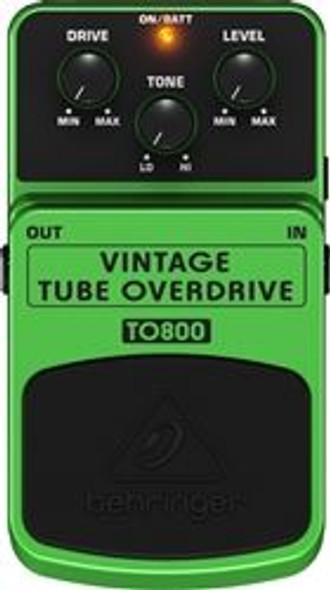 Behringer Vintage Tube-Sound Overdrive Effects Pedal