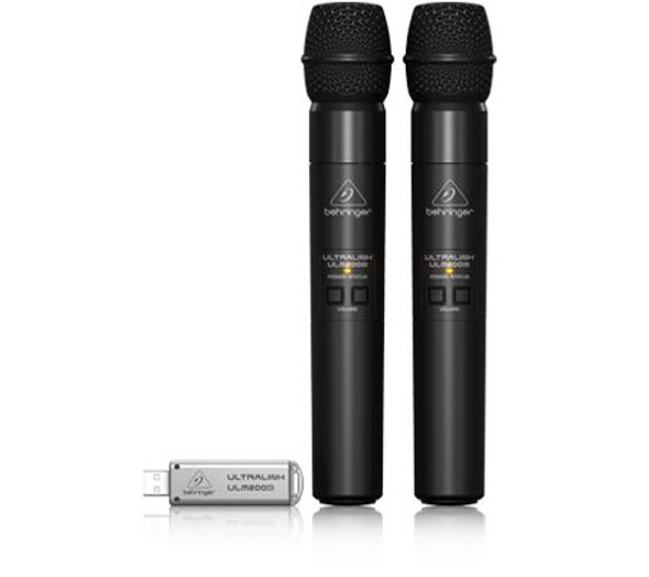 Behringer 2.4 GHz Digital Wireless Dual Microphones with USB Receiver