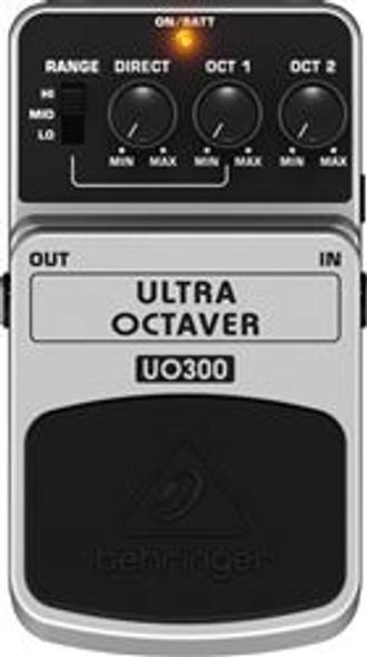 Behringer 3-Mode Octaver Effects Pedal