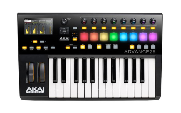 Akai ADVANCE 25 KEYBOARD CONTROLLER