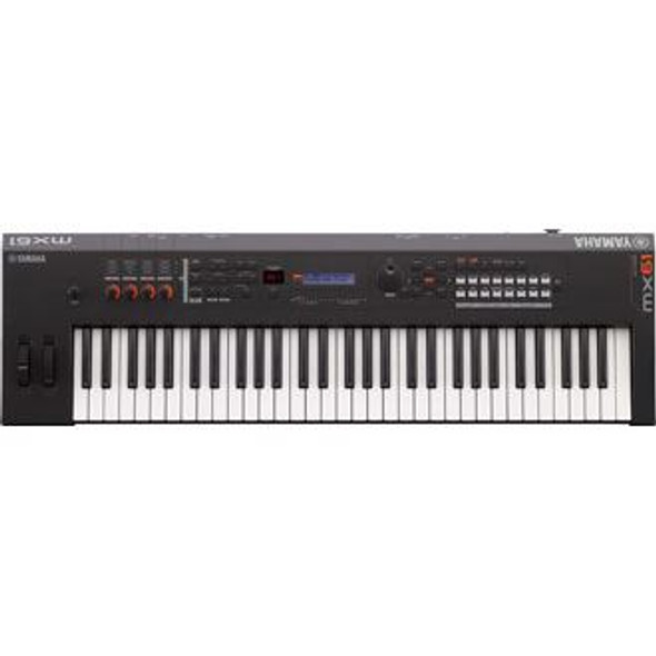 Yamaha MX61 BK Keyboard Synthesizer - Black