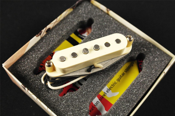Bare Knuckle Irish Tour Signle Coil Bridge, Middle and Neck RWRP '56 Vintage Stagger Cream Pickup Set