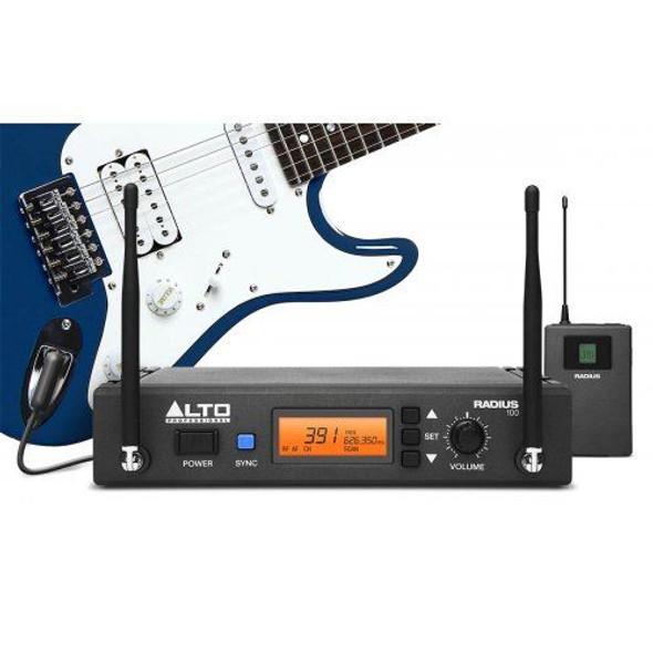 Alto Radius100M Professional UHF Diversity Instrument Wirelsss System -RADIUS100MXUS