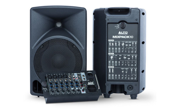 Alto MIXPACK 10 All-in-one Portable Sound System  -MIXPACK10XUS