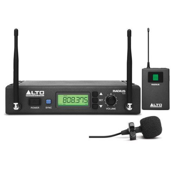 Alto Radius100L Professional UHF Diversity Wireless Microphone System -RADIUS100LXUS