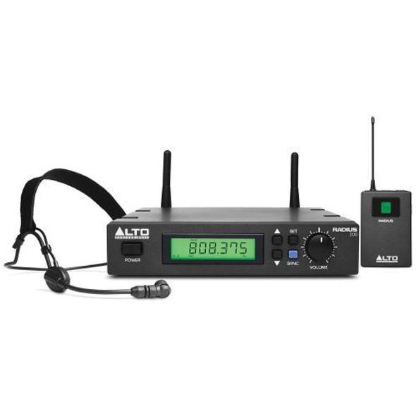 Alto RADIUS200HXUS Radius 200H Professional UHF Diversity Wireless Headset Microphone System -RADIUS200HXUS