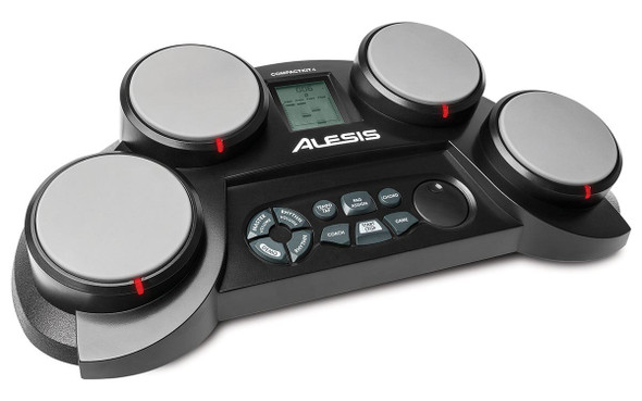 Alesis CompactKit 4  4-Pad Portable Tabletop Drum Kit -COMPACTKIT4XUS