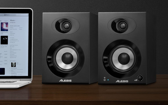 Alesis Elevate 4 Powered Desktop Studio Speakers -ELEVATE4XUS