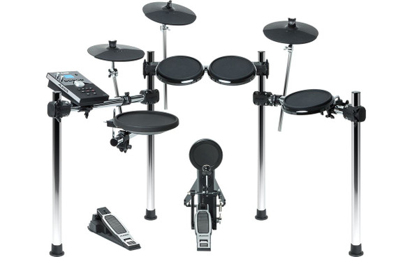 Alesis Forge Kit Eight-Piece Drum Kit with Forge Drum Module -FORGEKITXUS