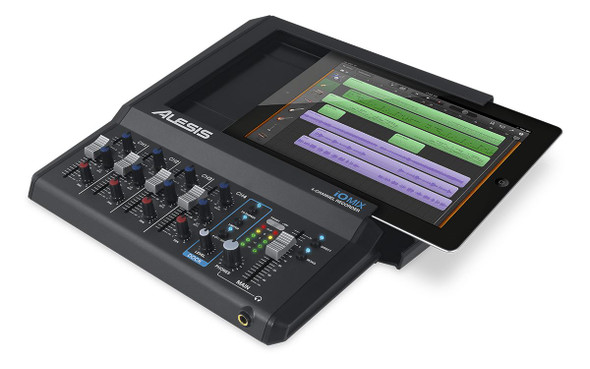 Alesis iO Mix 4-Channel Audio Interface / Mixer for iPad  -IOMIXX110