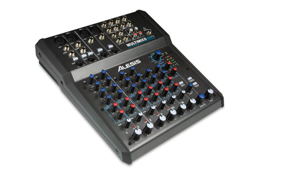 Alesis MultiMix 8 USB FX 8 Channel Mixer with Effects / USB Audio Interface  -MM8USBFXX110