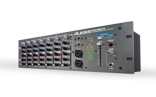 Alesis MultiMix 10 Wireless 10-Channel Rackmount Mixer with Bluetooth Wireless  -MM10WX110
