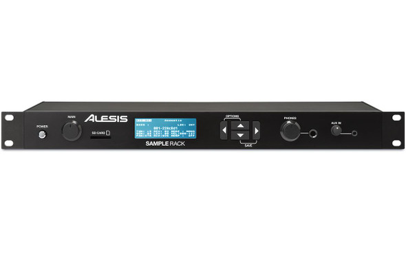 Alesis SampleRack Rackmount Percussion Module With Onboard Sound Storage -SAMPLERACKXUS