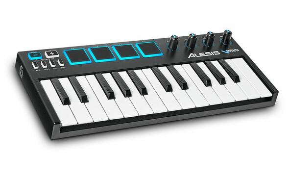 Alesis V Mini Portable 25-Key USB-MIDI Controller -VMINI