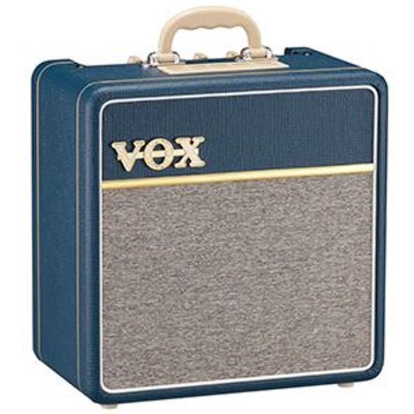 "Vox AC4C1-BL 4W Valve Combo Blue Tolex 12"" Speaker Single Channel"