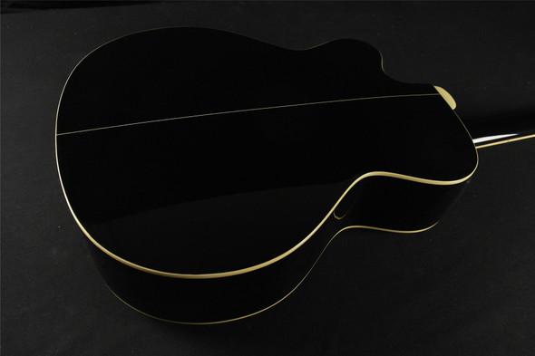 Takamine G Series EGB25-BK Cutaway Acoustic - Black STOCKED