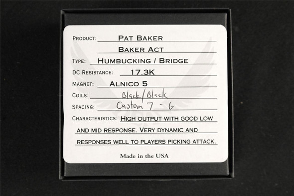 BAKER ACT BRIDGE BK/BK F SPACED