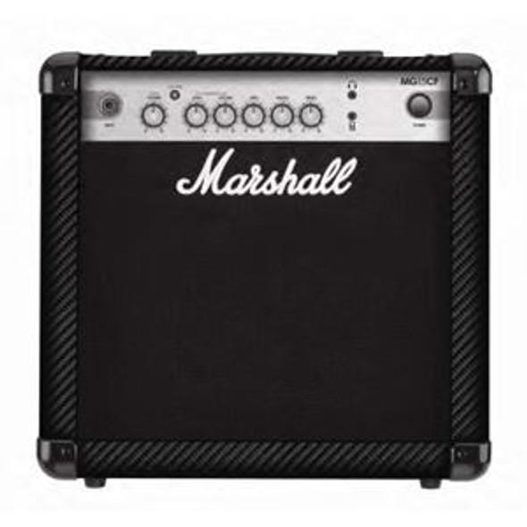 "Marshall MG15CF - 15 watt 2 channel combo with 8"" speaker"