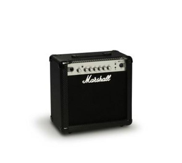 "Marshall MG15CFR - 15 watt 2 channel combo with reverb &  8"" speaker"