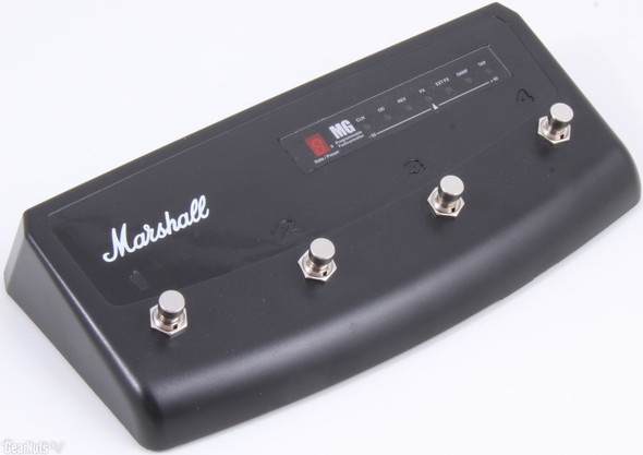Marshall PEDL90008 4 Way Stompware Footcontroller for MG Series FX Models