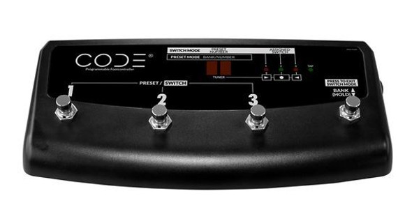 Marshall PEDL91009 4 Way Footswitch for Code Series amps