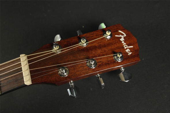 Fender CD-140SCE Mahogany with Case - Natural (973)
