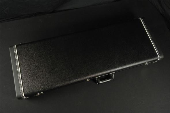 Brand New! Fender Custom Shop Case Center Pocket Red Plush - Black Tolex