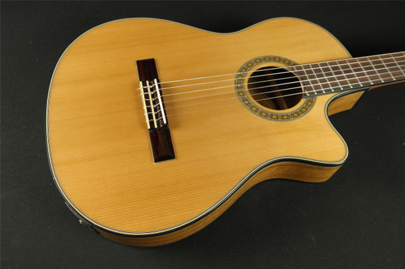 Fender CN-240SCE Thinline Classical - Natural (108)