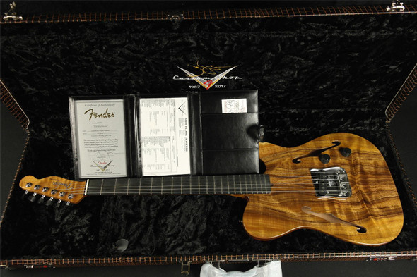 Fender Custom Shop Founders Series Design Esquire - Design by John Page Natural (936)