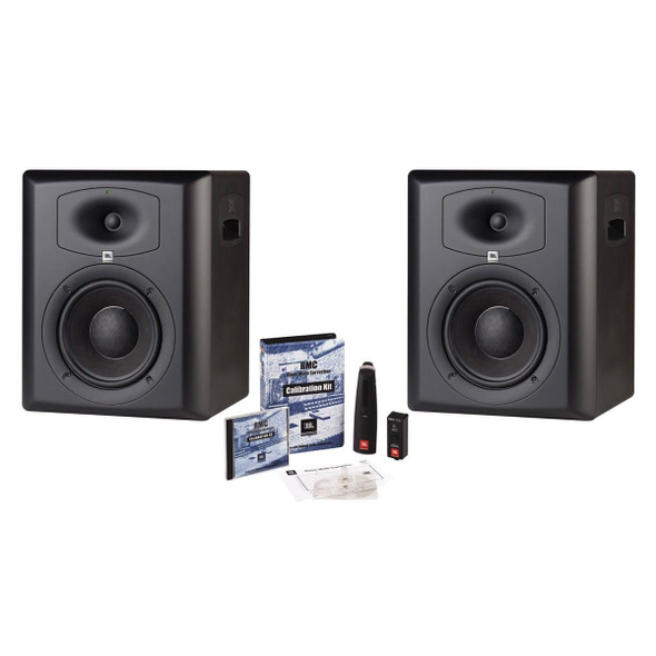 JBL LSR6328P/PAK Stereo Monitor System w/ 2 x LSR6328P & 1pc RMC Calibration kiy