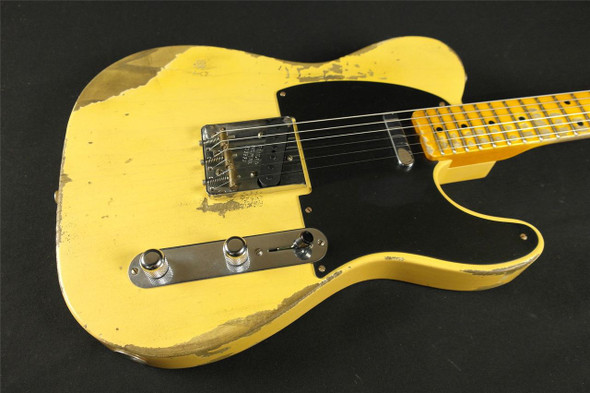Fender Custom Shop 1952 Telecaster Heavy Relic - Nocaster Blonde (626)