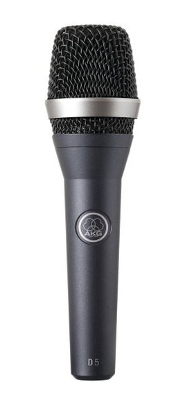 AKG D5S Professional dynamic Vocal Microphone for lead and backing vocals with noiseless on/off switch