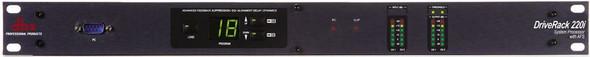 DBX 220i 2x2 Loudspeaker Management System
