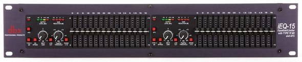 DBX iEQ15 iEQ Series - Intelligent Dual 15 Band Graphic Equalizer w/AFS
