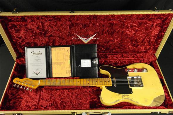 Fender Custom Shop 1952 Telecaster Heavy Relic - Nocaster Blonde (538)