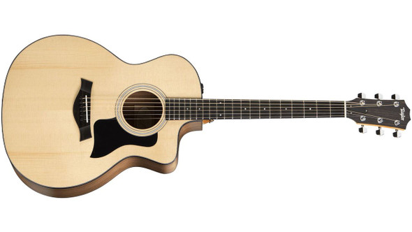 Taylor 114ce Grand Auditorium Cutaway Acoustic/Electric - Natural