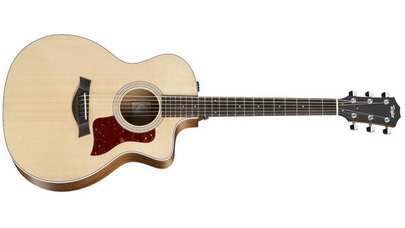Taylor 214ce Grand Auditorium Cutaway Acoustic/Electric - Natural