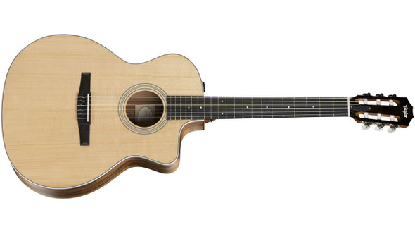 Taylor 214ce-N Grand Auditorium Nylon Cutaway Acoustic/Electric - Natural