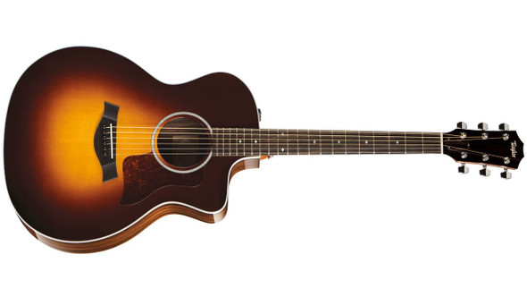 Taylor 214ce-SB DLX Grand Auditorium Cutaway Acoustic/Electric - Sunburst