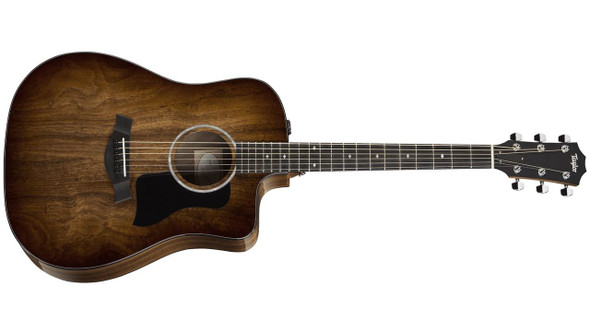 Taylor 220ce-K DLX Dreadnought Cutaway Acoustic/Electric - Natural Koa
