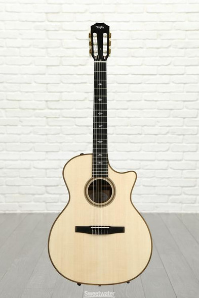 Taylor 714ce-N Grand Auditorium Nylon Cutaway Acoustic/Electric - Natural