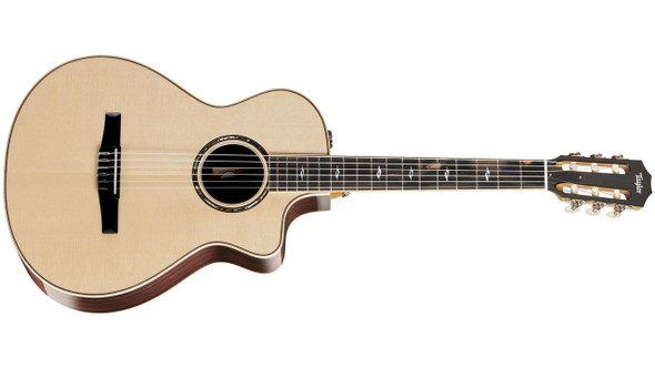 Taylor 812ce-N Grand Concert Nylon Cutaway Acoustic/Electric - Natural