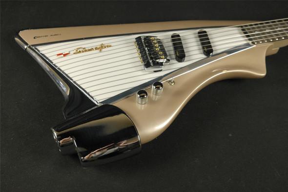 Vintage American Showster Inca Silver CHEVY - Super Rare Color & Guitar!